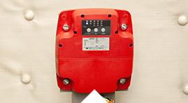 地震感知器・停電時自動着床装置